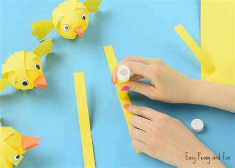 Paper Craft Work Step By Step - simple paper craft easter craft ideas easy peasy