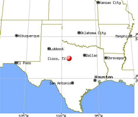 cisco texas map cisco texas tx 76437 profile population maps real estate averages homes statistics