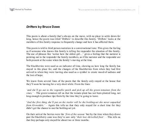 Bruce Dawe Essay by Bruce Dawe Essay