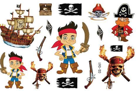 cartoon tattoo sticker kids pirate cartoon stickers temporary tattoos children