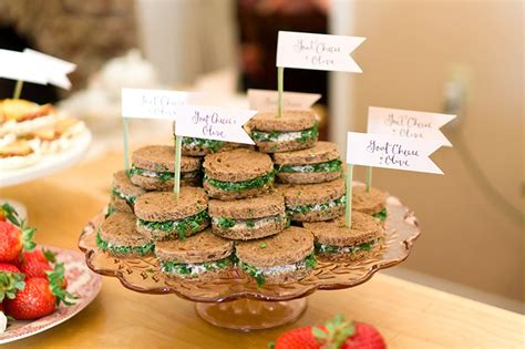 menu ideas for afternoon bridal shower afternoon tea bridal shower