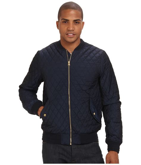 Scotch And Soda Quilted Jacket by Scotch Soda Quilted Bomber Jacket Shipped Free At