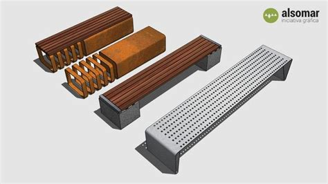 bench model search amplia vista previa del modelo 3d de several benches 3d