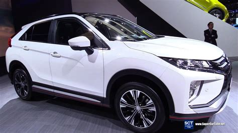 mitsubishi crossover white 2018 mitsubishi eclipse cross exterior interior