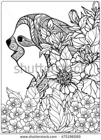 a hilarious sloth coloring book for adults and books stock photos royalty free images vectors
