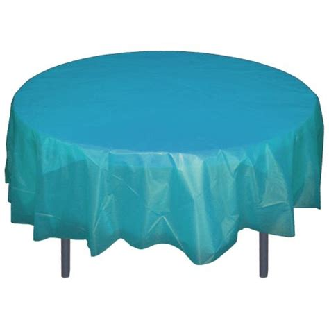 Turquoise 84 Quot Plastic Tablecloths Table Covers