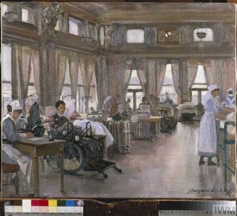 what is auxiliary room the special surgical auxiliary hospital at the and garter richmond the dining room