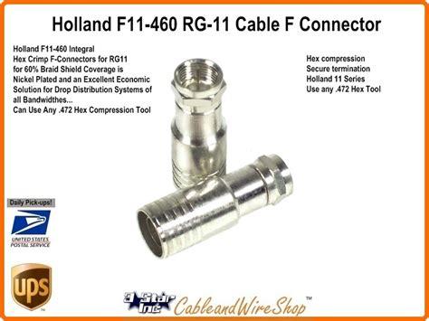 Special Conector Rg11 7c Yuri Product rg11 60 tri shield coaxial hex crimp f connector f11 460