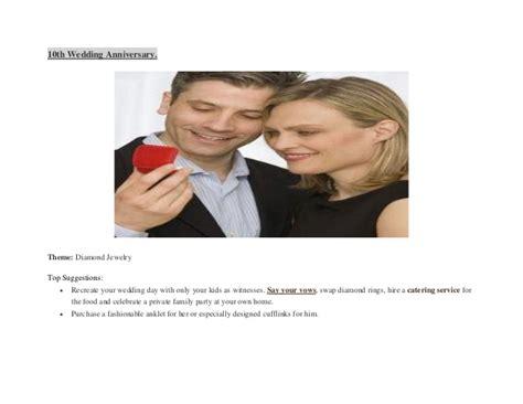 Wedding Anniversary Themes by Wedding Anniversary Gifts Modern Wedding Anniversary
