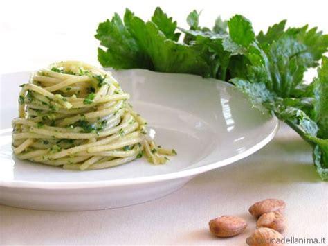 pasta sedano spaghetti al sugo di sedano cucinadellanima