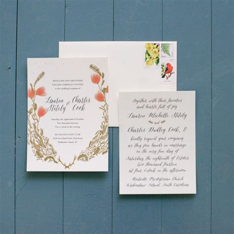 Addressing Wedding Invites