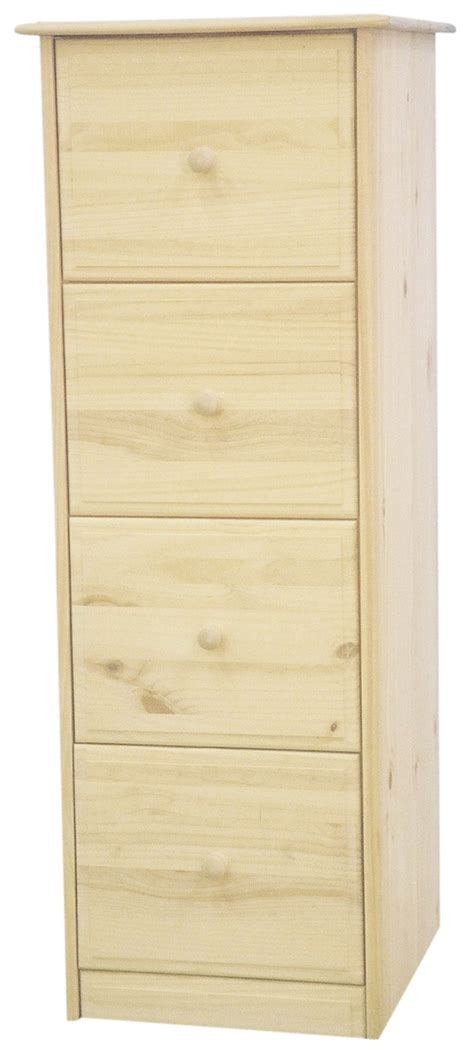 Pine Filing Cabinet 4 Drawer by 4 Drawer Filing Cabinet In Solid Pine Home Office
