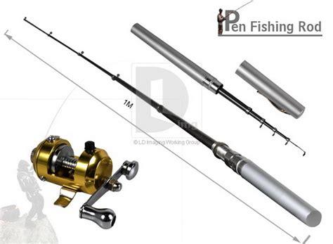 Fishing Pen By C C Shop by Mini Pocket Pen Fishing Rod Pole Reel Line Set Wholesale