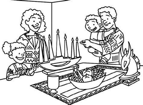 kwanzaa coloring pages kids az coloring pages