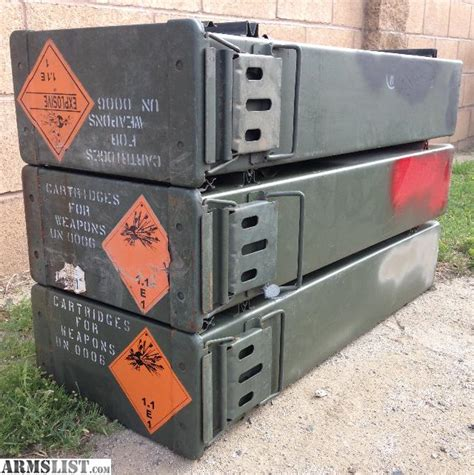 ammo storage containers armslist for sale ammo cans storage containers