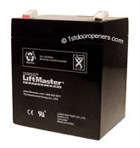 Liftmaster Garage Door Battery Replacement by Liftmaster Garage Door Opener Battery 3850 3800 Jackshaft