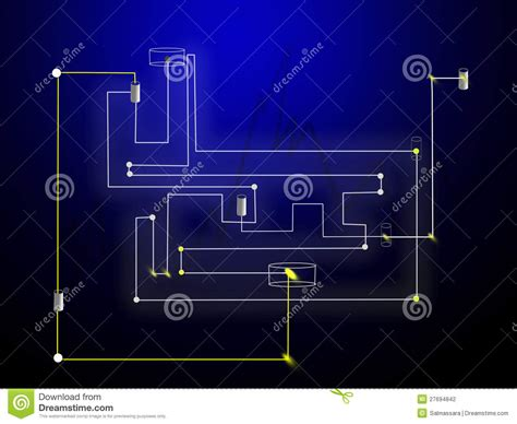 integrated circuit technology industry technology integrated circuit stock photography image 27694842