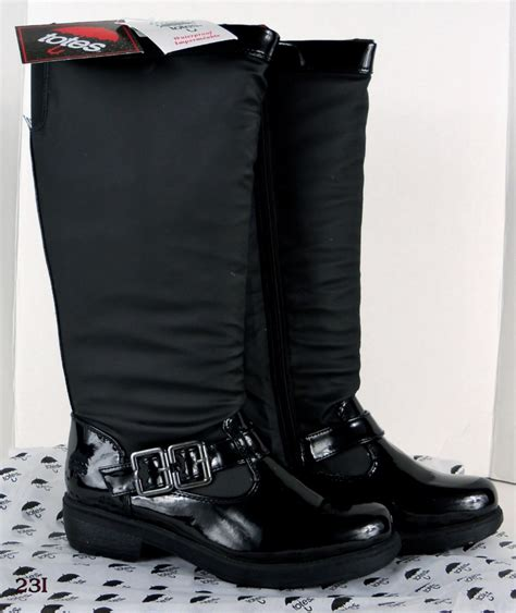 womens totes winter boots style black ebay