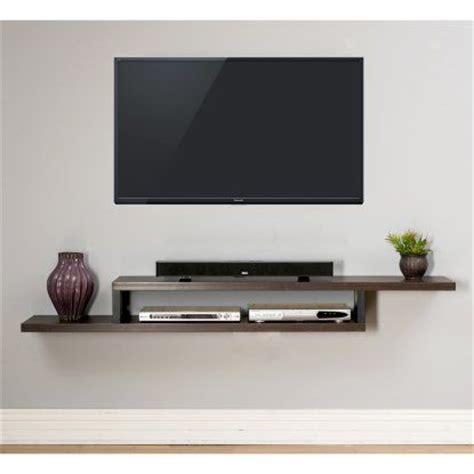 Tv On Shelf by 17 Best Ideas About Wall Mounted Tv On Mounted