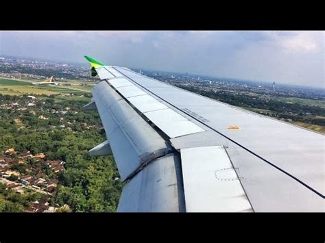 citilink landing citilink a320 200 afternoon landing in adi soemarmo