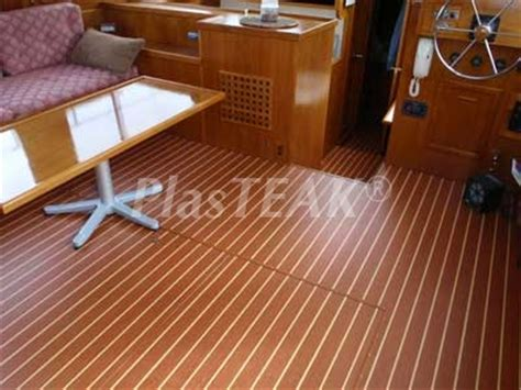 boat carpet wood look teak and holly marine floor landworthy teardrop