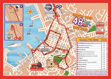map of trieste italy trieste hop on hop tour