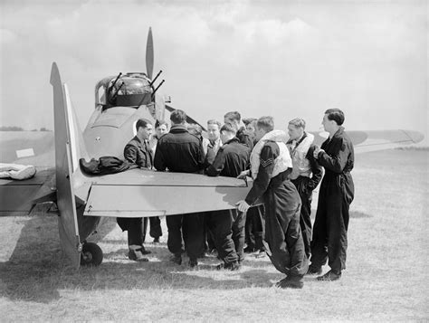 The Squadron file squadron leader p a far left the co of no