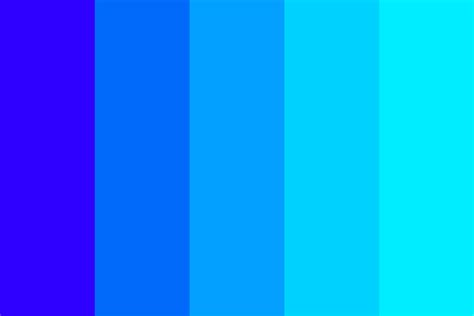 color combination with blue just blue color palette