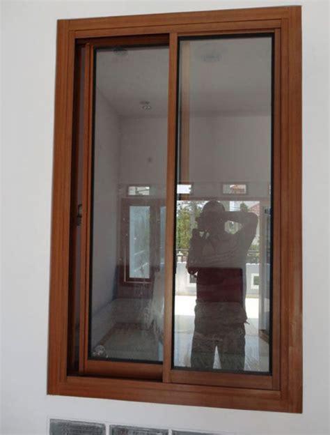 wallpaper kayu bandung contoh desain jendela rumah minimalis kayu jati foto
