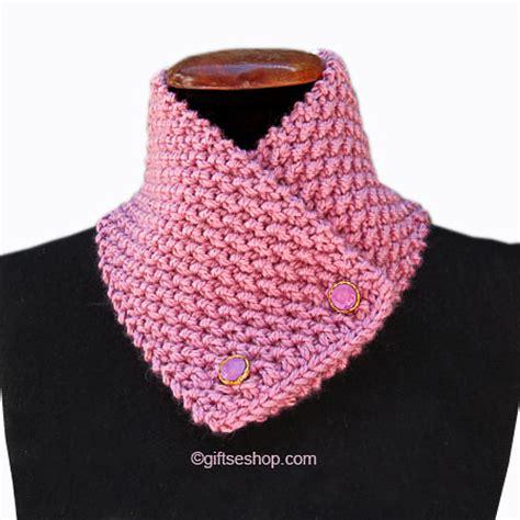 knitting pattern scarf button cowl knitting pattern button scarf short scarf knitted