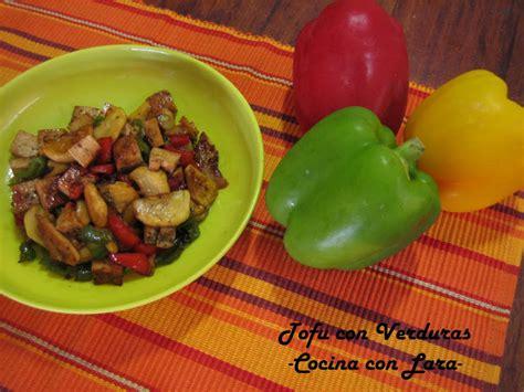 cocina con lara salteado de cocina con lara tofu con verduras