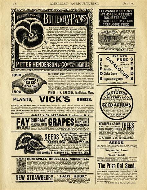 design magazine vintage vintage garden seeds magazine advertising old design
