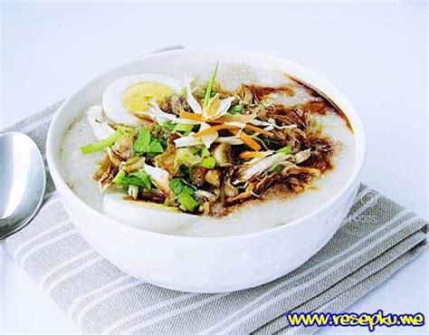 Ayam Tabur Bubuk Ayam resep bubur ayam bandung yang lezat dan nikmat masakan sunda resepku me