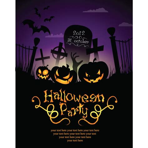 halloween party invitations templates plumegiant com