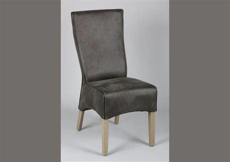 chaise microfibre acheter votre chaise en microfibre marron pieds ch 234 ne
