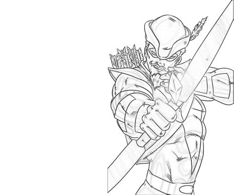 Green Arrow Coloring Pages free coloring pages of arrow