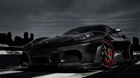 Wallpaper Black Ferrari | black ferrari wallpapers wallpaper cave