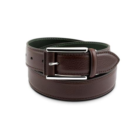 vegetable tanned and drummed leather belt pineider