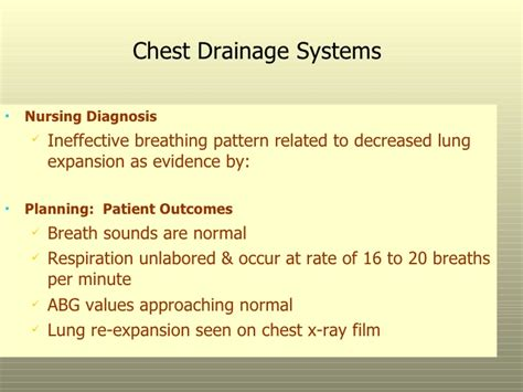 ineffective breathing pattern as evidenced by respiratory system 2