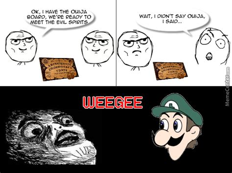 Weegee Meme - weegee intensifies by theevilchest meme center