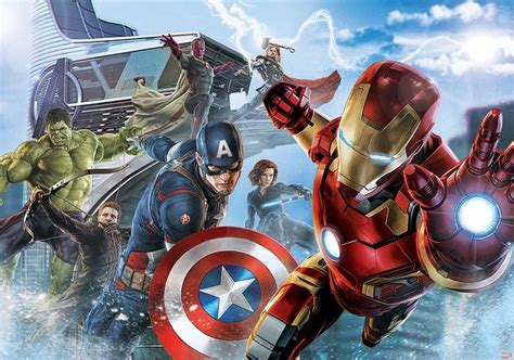 imagenes de los vengadores wallpaper avengers paper wallpaper homewallmurals