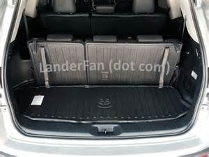 Cargo Liner For Highlander Toyota Cargo Liner For The New Highlander
