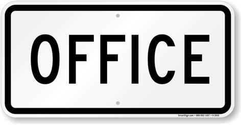desk signs for office office sign parking lot sign sku k 2916