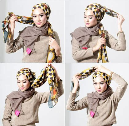tutorial hijab simple tanpa peniti tutorial hijab turban simple tanpa peniti 364128