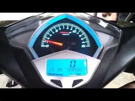 Kilometer Speedometer Beat New Beat speedometer digital koso honda beat