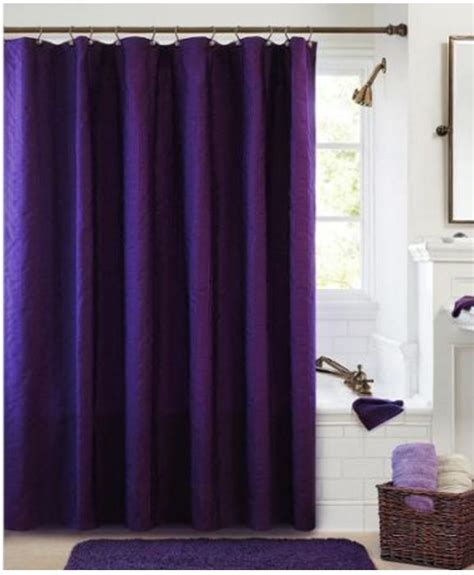 contemporary fabric shower curtains 72 quot x 72 quot bathroom shower curtain eggplant purple fabric