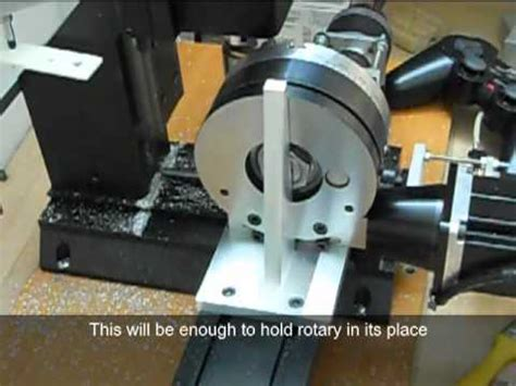 Sherline Rotary Table by Milling A Hex With Sherline Cnc Rotary Table Funnydog Tv
