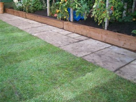 Using Railway Sleepers As Garden Edging by The 25 Best Ideas About Sleepers Garden On