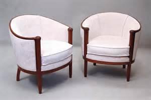 fauteuils d 233 co 1925 en acajou le guide des antiquaires