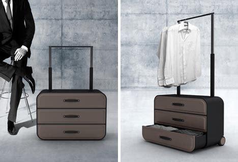 dresser on wheels suitcase closet suitcase dresser on wheels for business travelers
